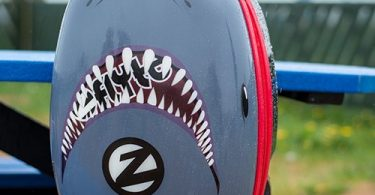 ZincFlyte – 18″ Case Scooter Snapper the Shark