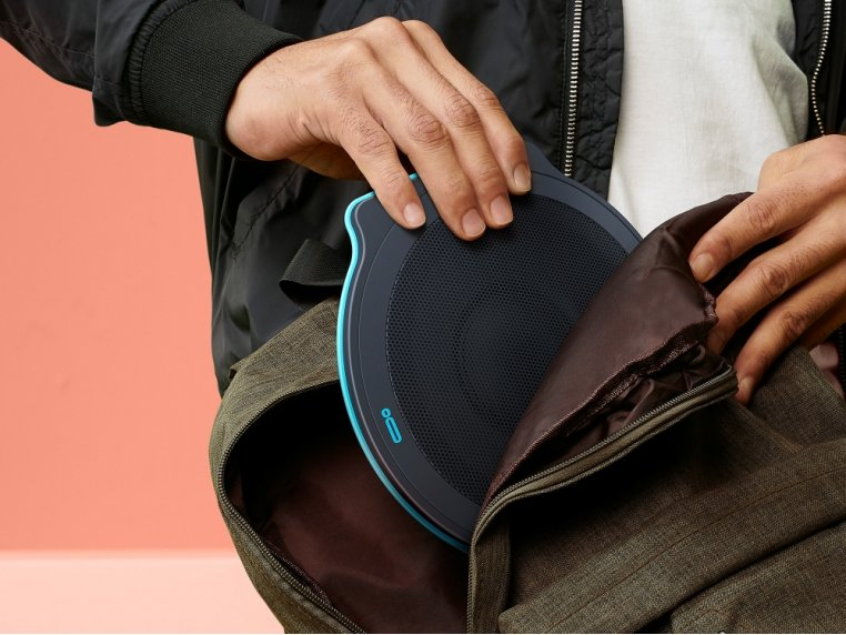 POW UNA X Collapsible Portable Bluetooth Speaker