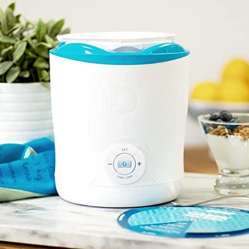 Dash DGY001WBU-C Greek Yogurt Maker
