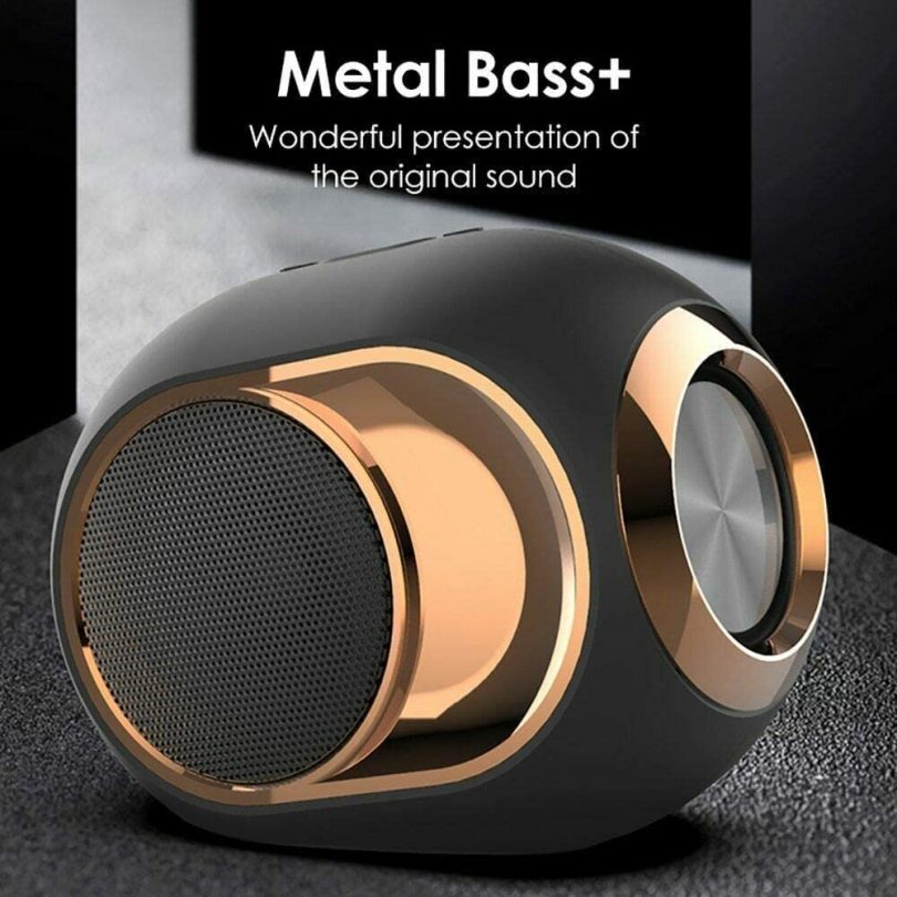 Golden Egg Bluetooth Speaker