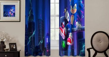 NineThing Window Blackout Curtains,Sonic The Hedgehog