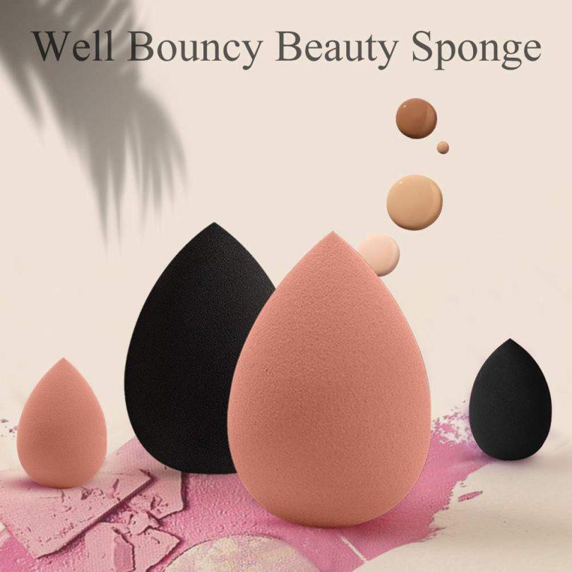 BEAKEY 4+1 Pcs Makeup Sponges