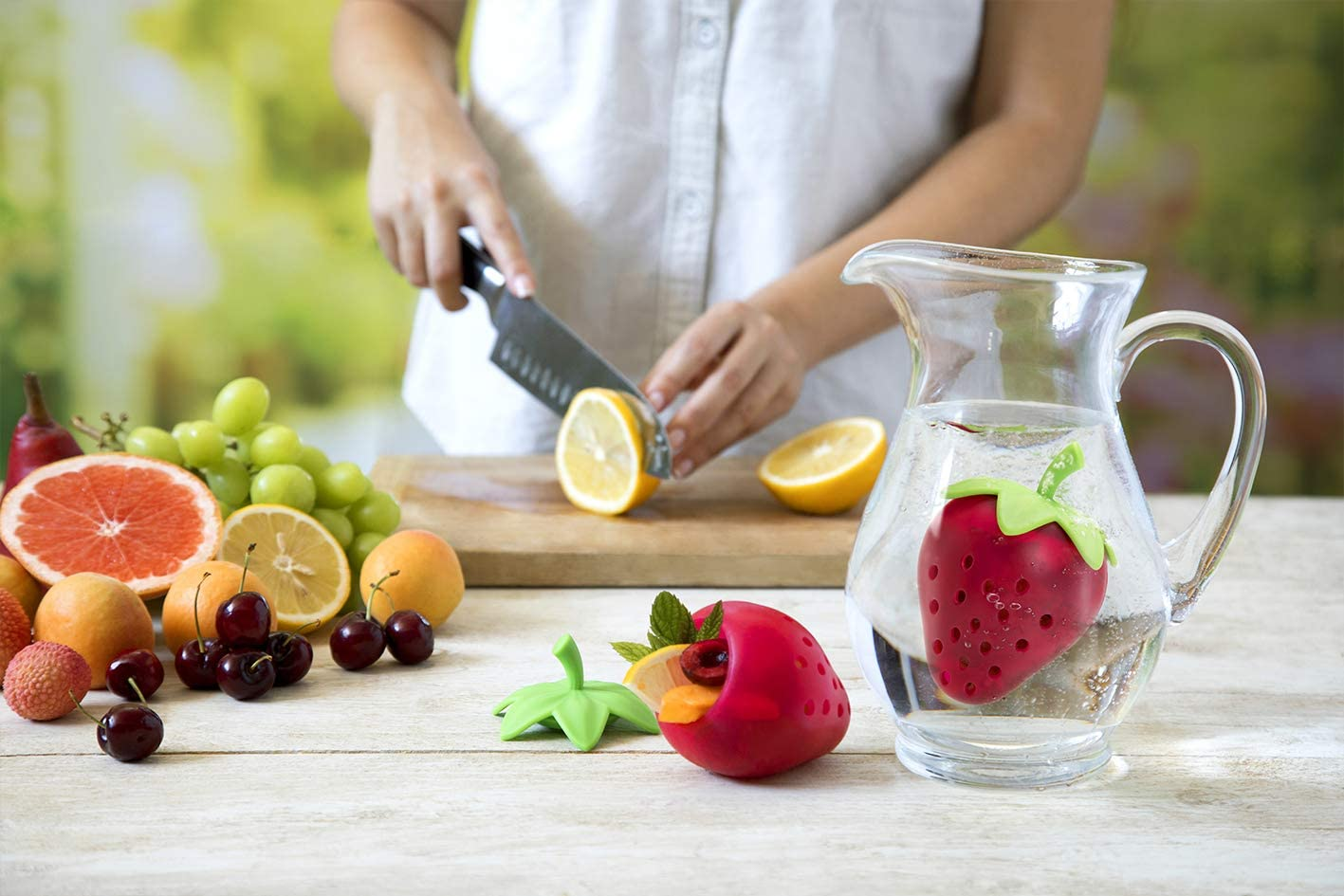 OTOTO Tutti Fruit Infuser for Water Pitchers