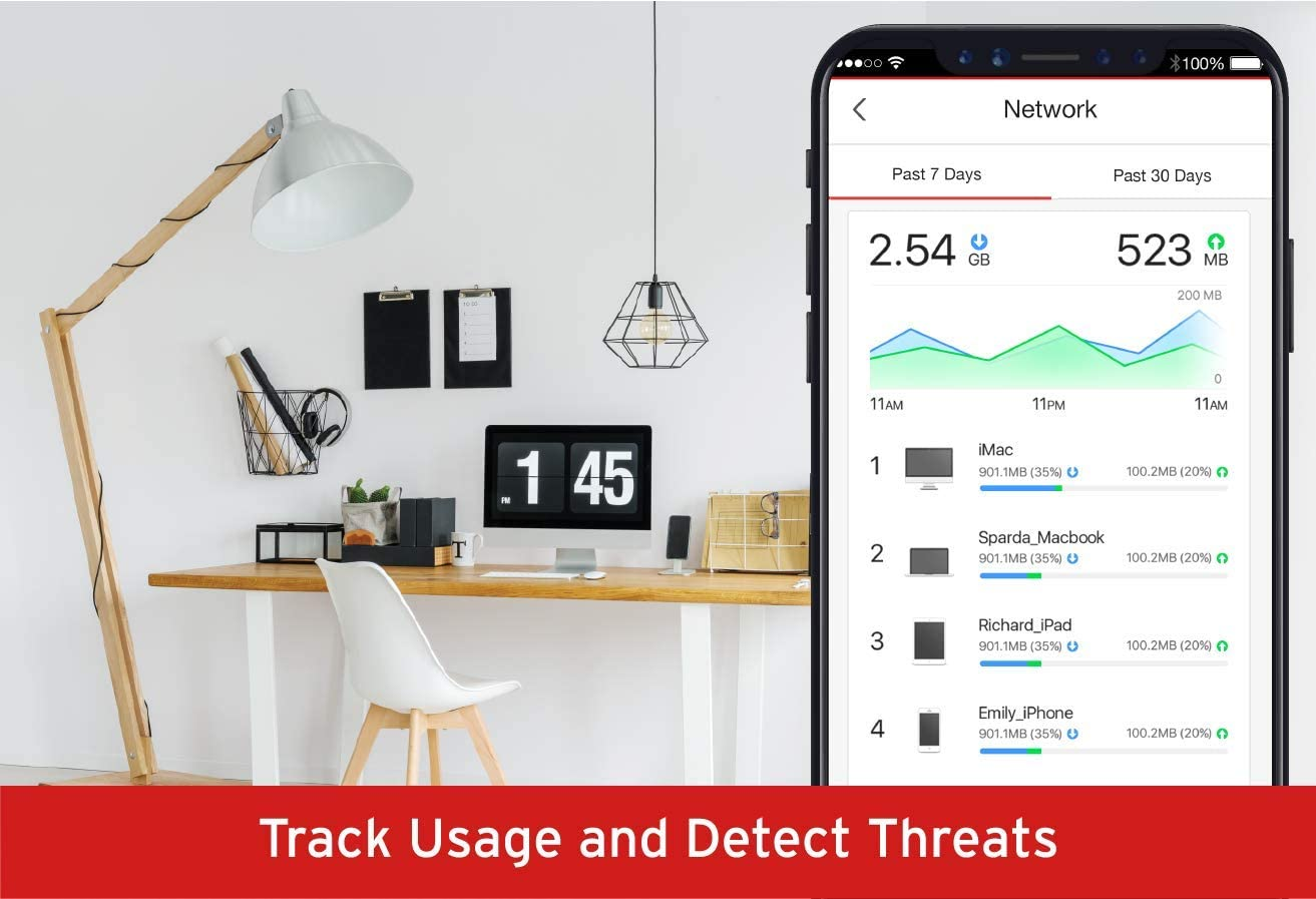 Trend Micro Home Network Security Firewall Device