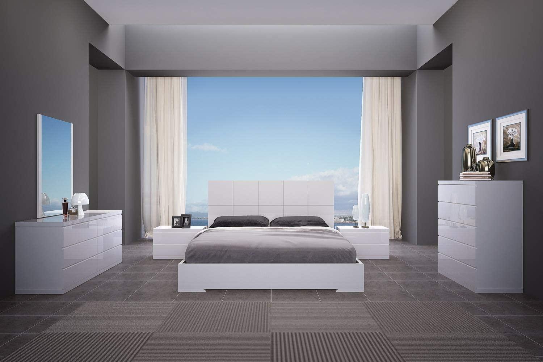 Whiteline Contemporary Modern Anna Bed