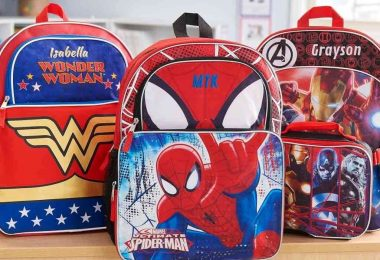 Personalized Superhero Backpacks