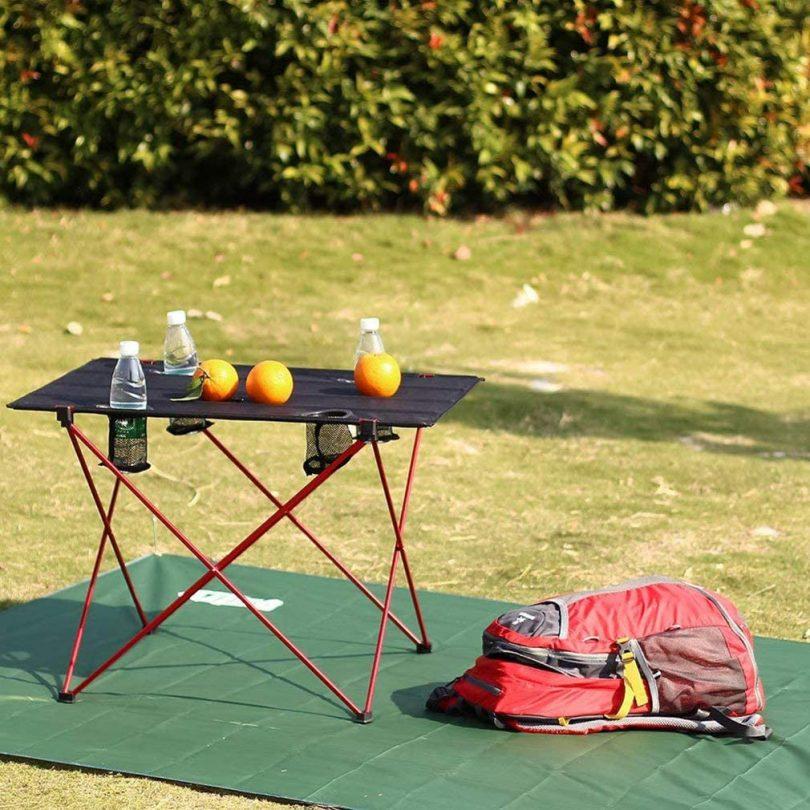SOVIGOUR Lightweight Folding Camping Table