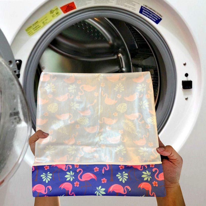 Washable and Reusable Wet Bag, Diaper Bag