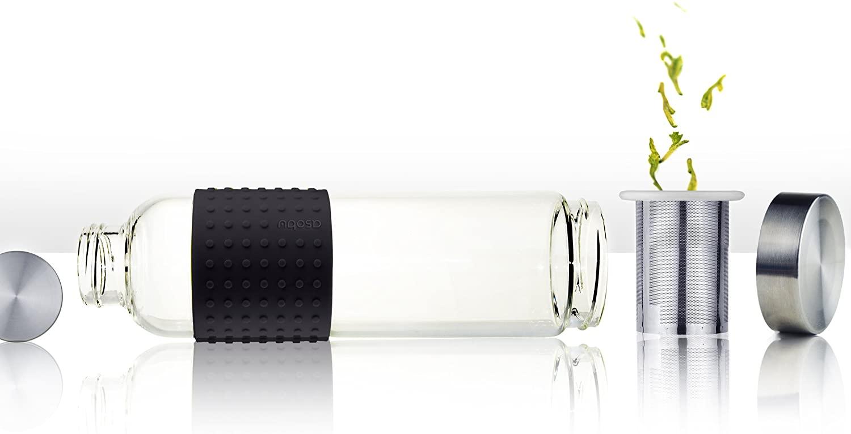 Asobu IT2GO Ice Tea and Coffee Infuser Glass Water Bottle