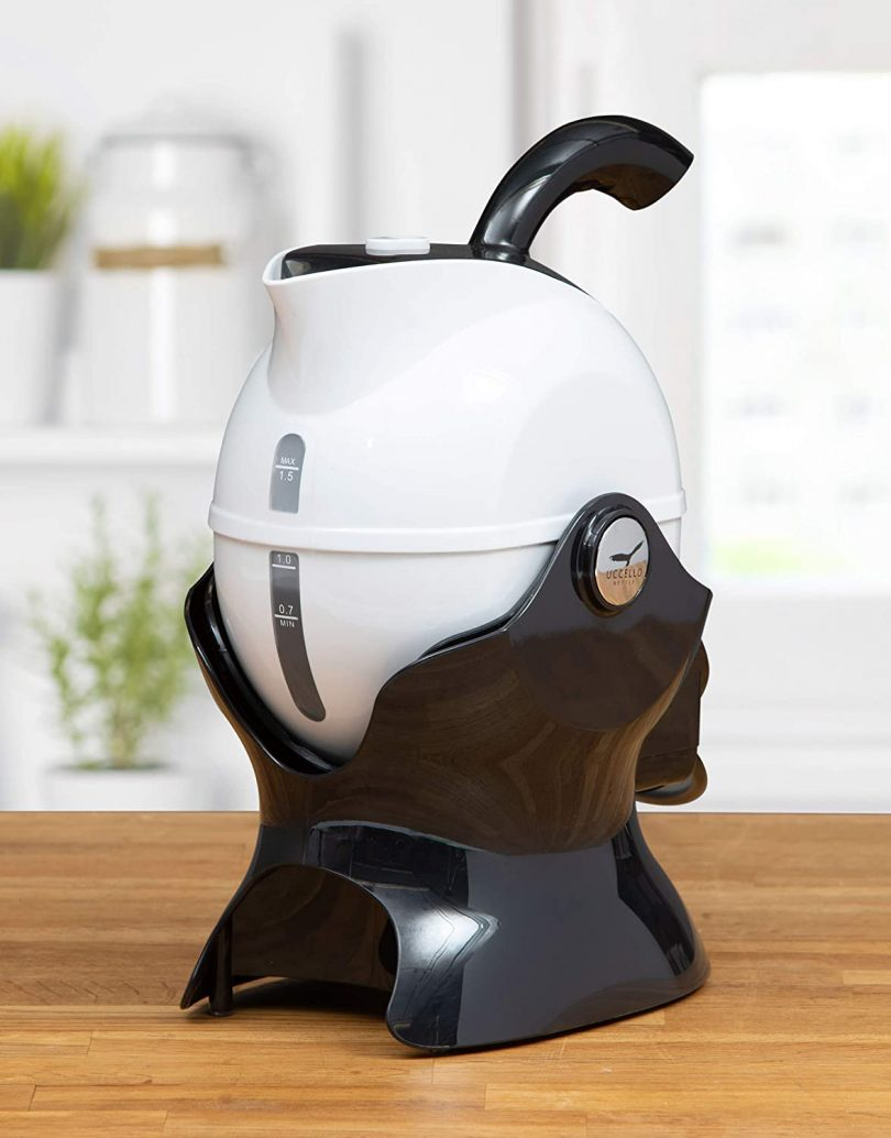 The Uccello Safety Kettle with Effortless Pour
