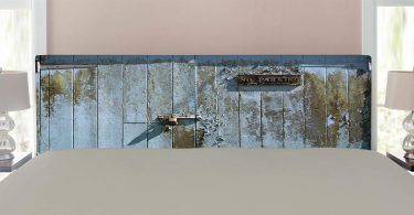 O&K FURNITURE 2-Tier Rustic Wood and Metal Bookshelves