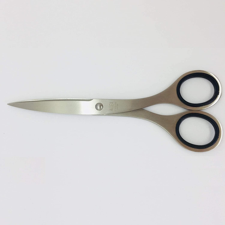 ALLEX Japanese All Stainless Steel Office Scissors