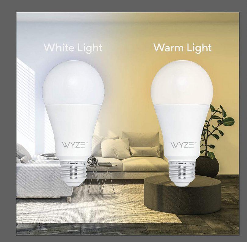 WYZE WLPA19-2 LED Smart Home Light Bulb
