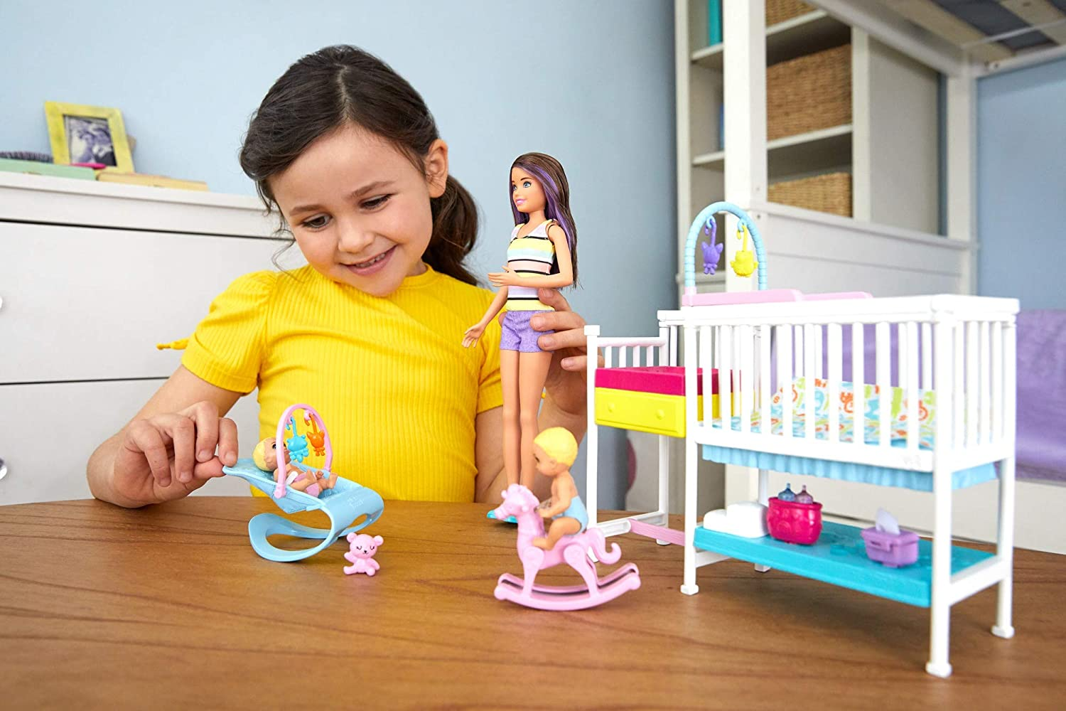 Barbie Nursery Playset