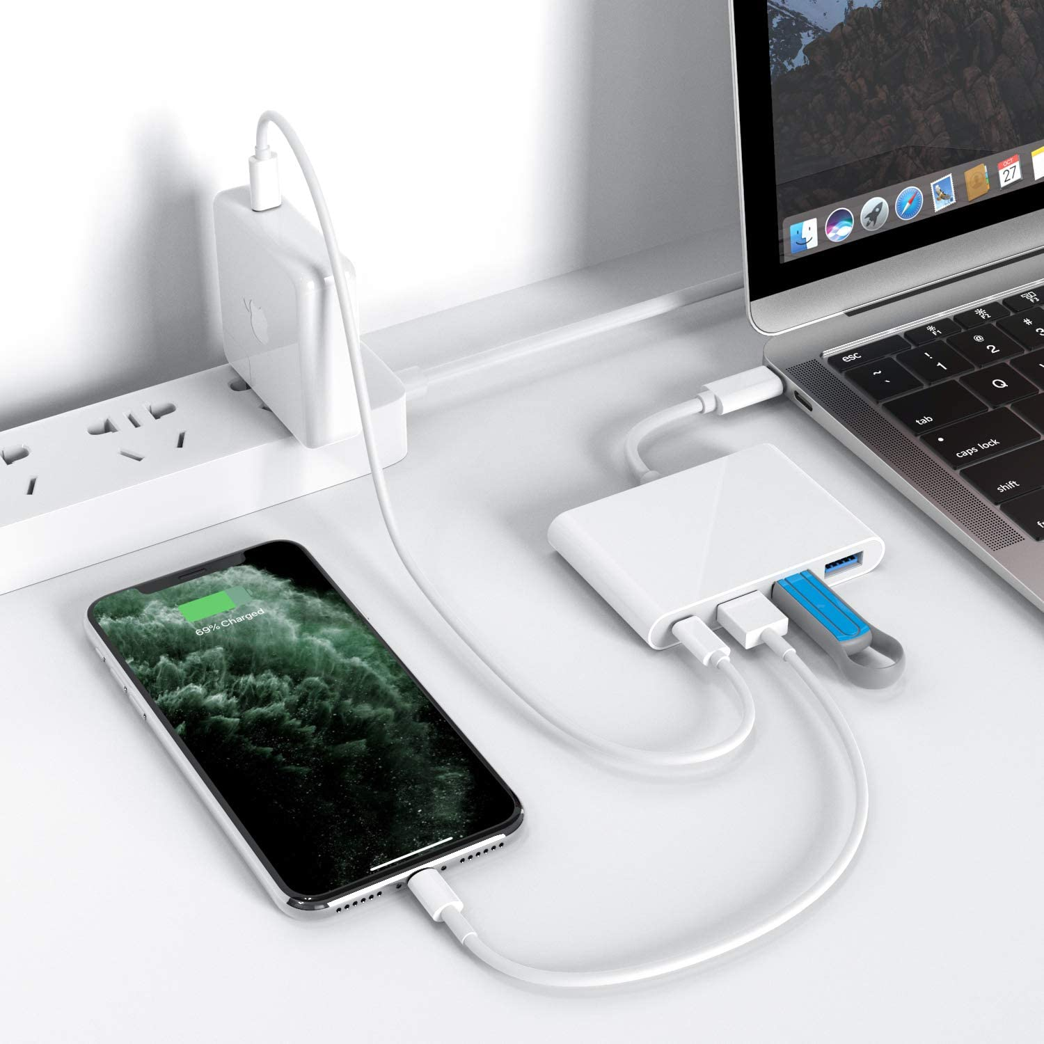 Nonda 4-in-1 USB C Hub