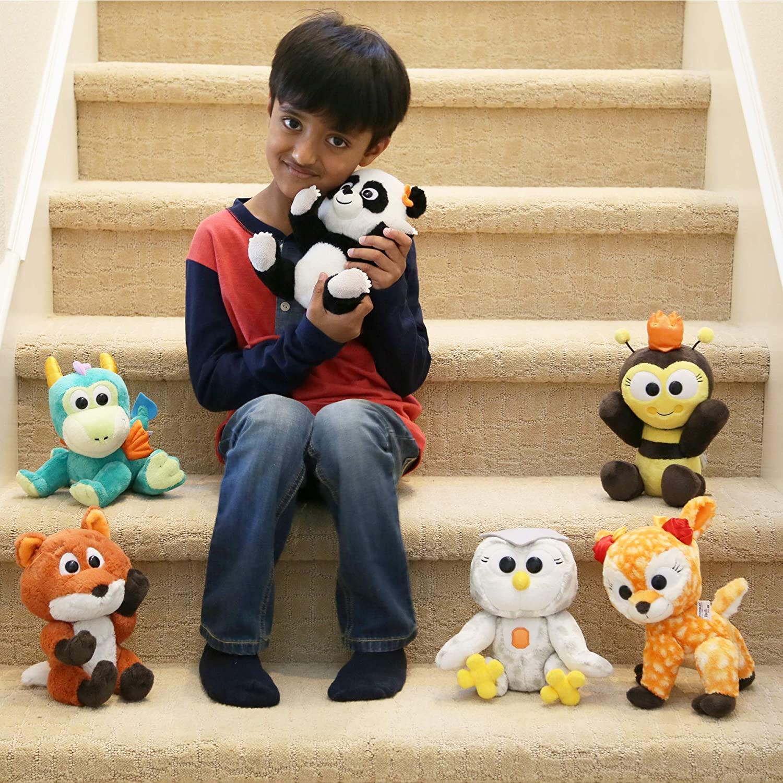 Animoodles Magnetic Jada Panda Stuffed Animal Plush