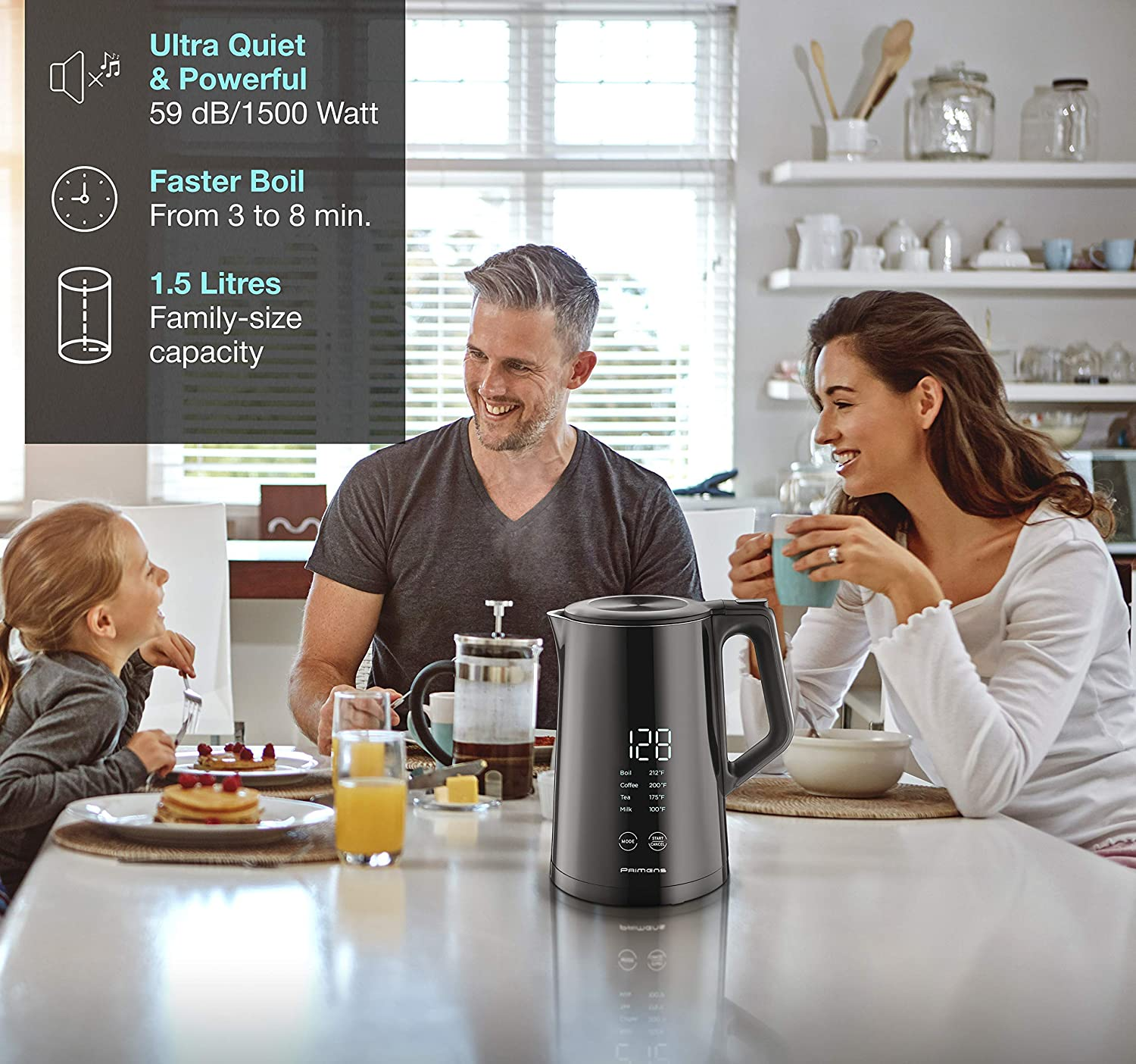 Smart Electric Kettle Variable Temperature Control