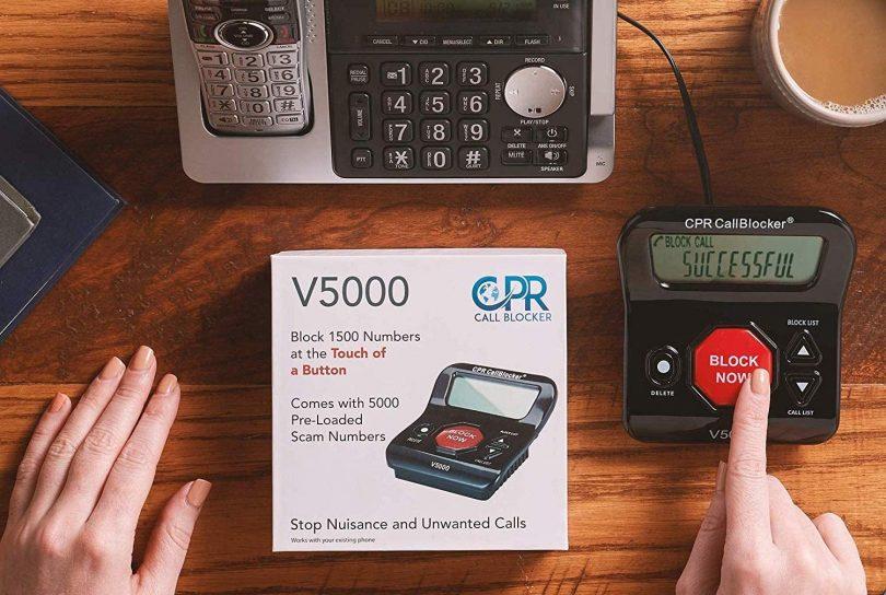 CPR V5000 Call Blocker for Landline Phones