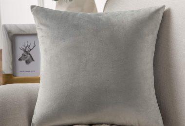 Phantoscope Velvet Decorative Throw Pillow Covers