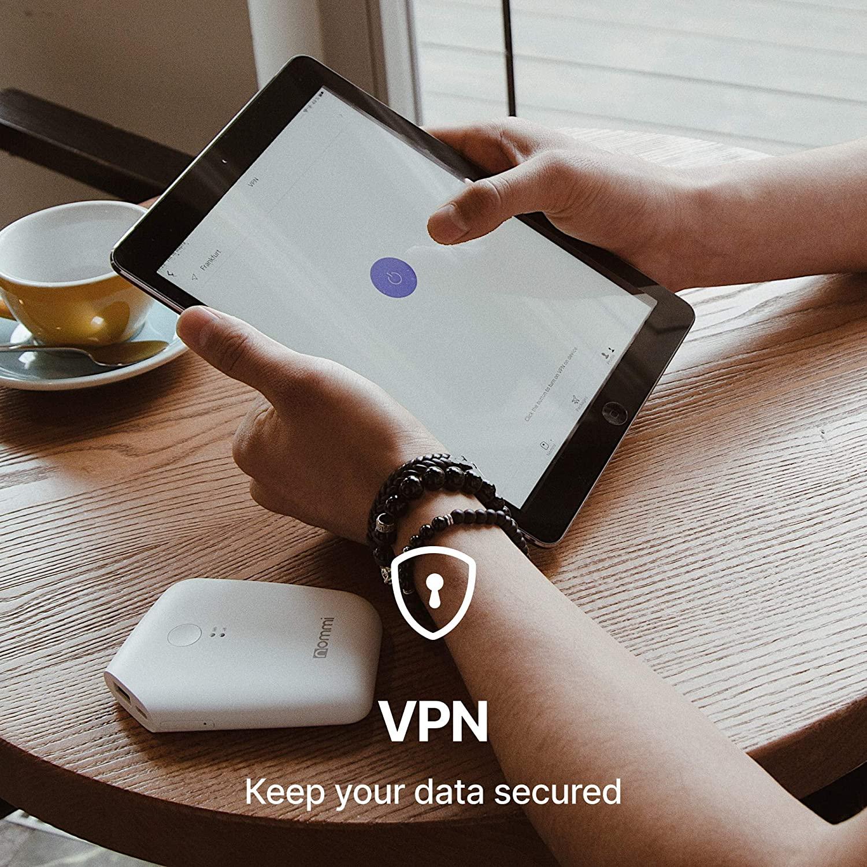 Nommi: Secured 4G LTE Unlocked Hotspot