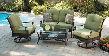 Better Homes and Gardens Providence 4-Piece Patio Conversation Set