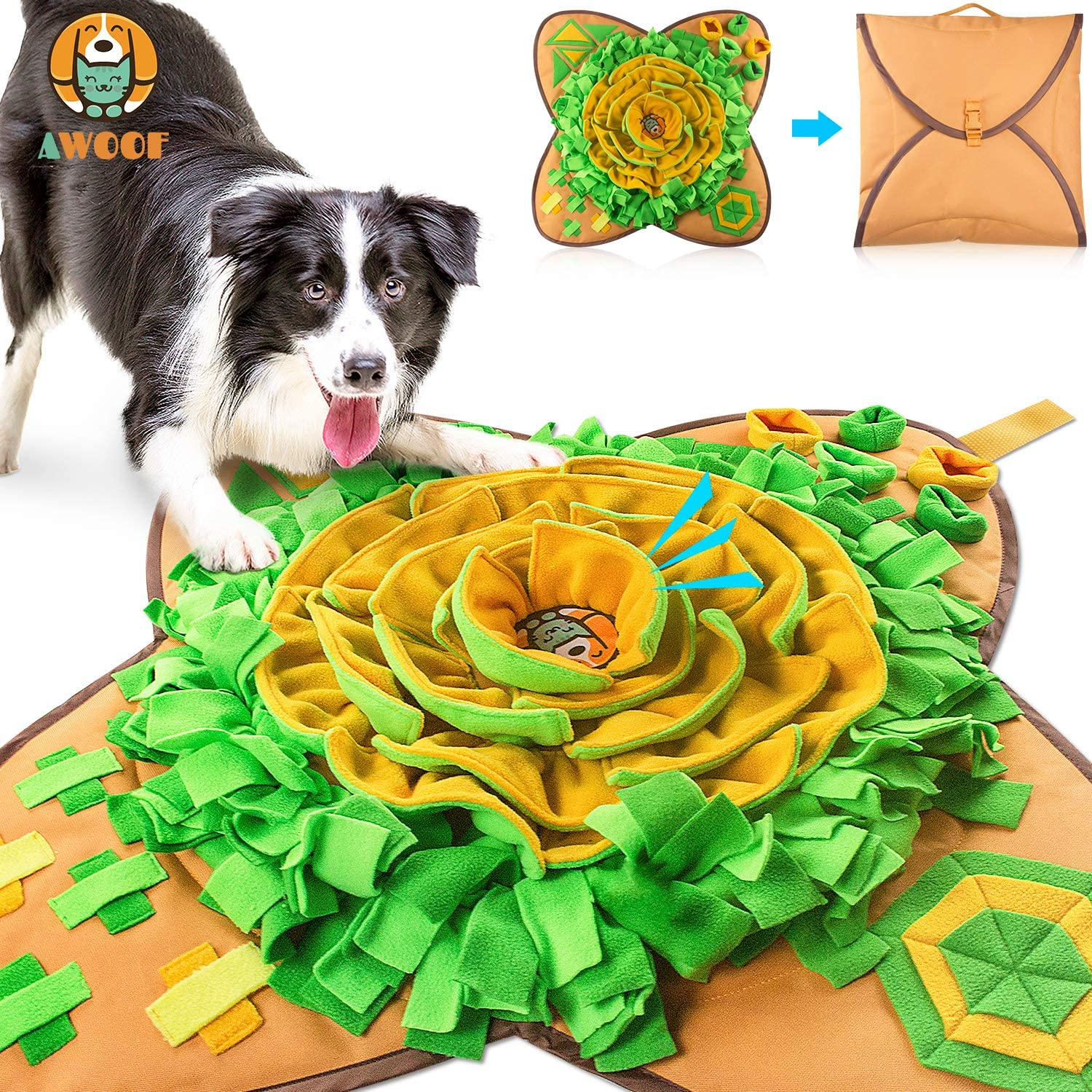 AWOOF Dog Puzzle Toys
