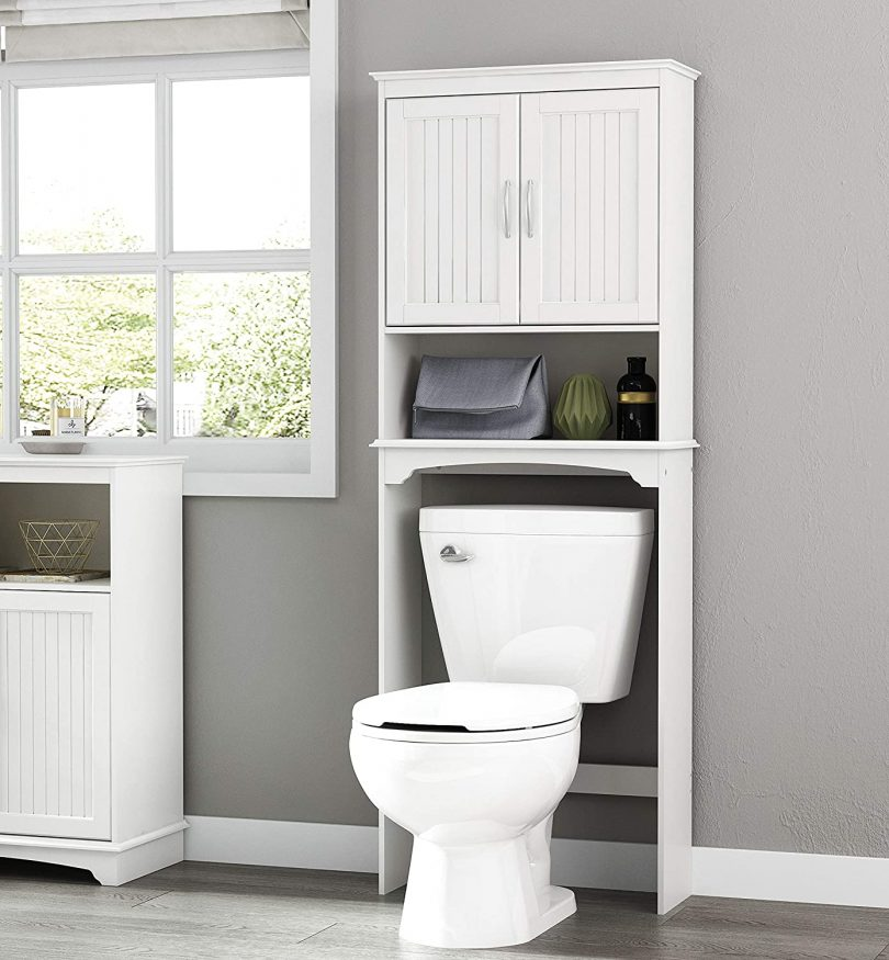 Spirich Home Bathroom Shelf Over-The-Toilet
