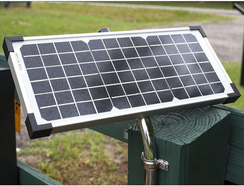 Ghost Controls AXDP Premium 10 Watt Monocrystalline Solar Panel