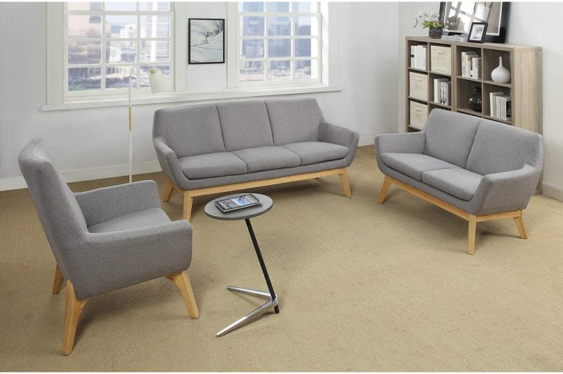 Lorell Quintessence Collection Upholstered Chair
