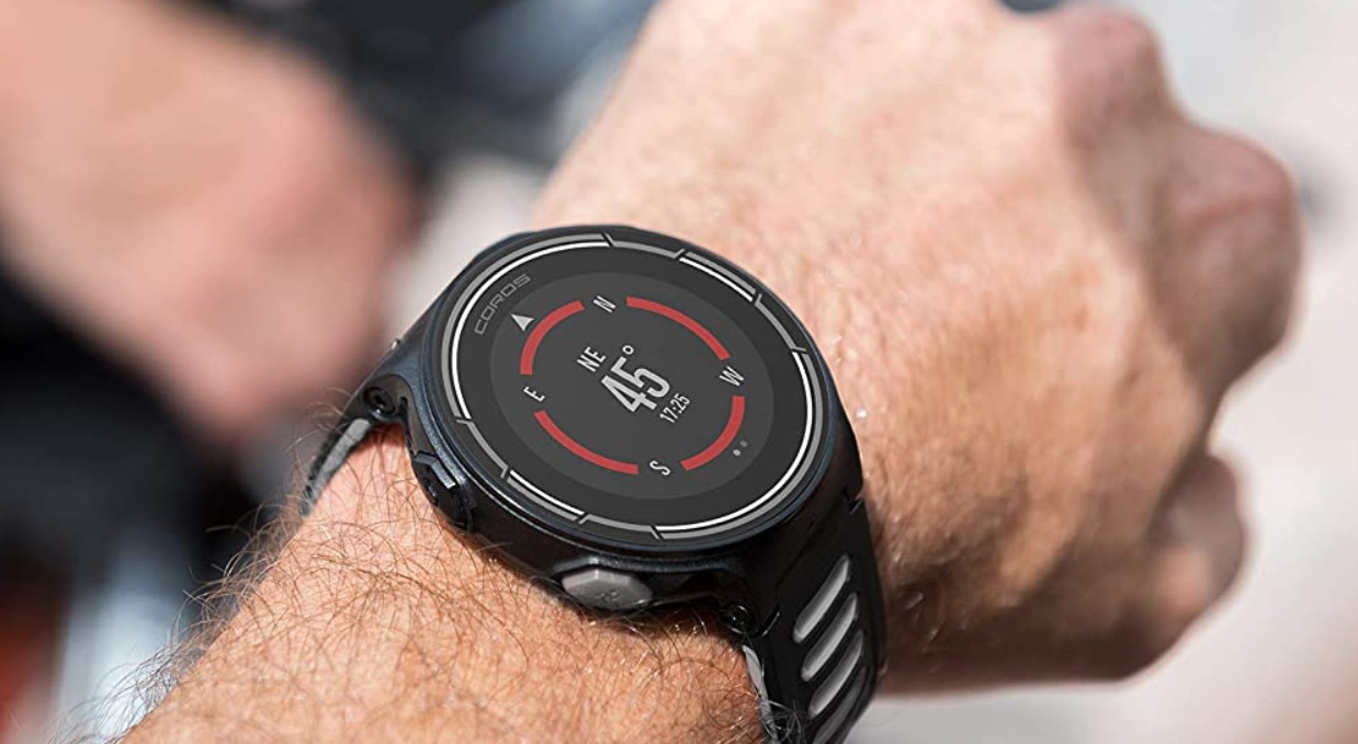 Coros PACE Multisport GPS Watch with Heart Rate Monitor