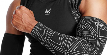MISSION mens Cooling Compression Arm Sleeves