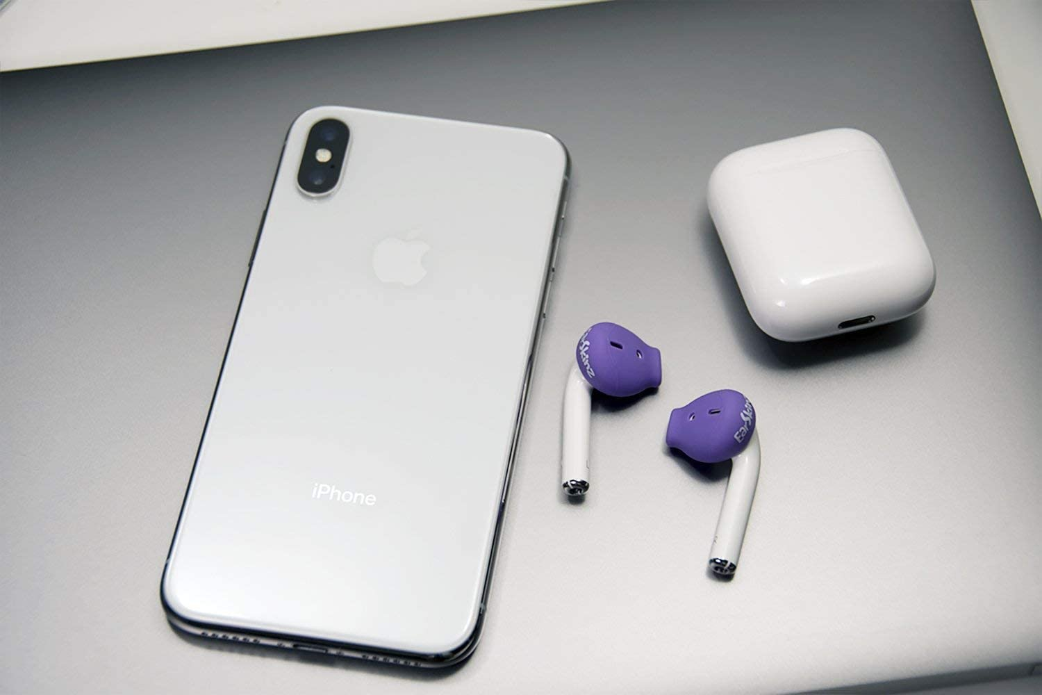 EarSkinz ES3 Covers for Apple AirPods (Purple)