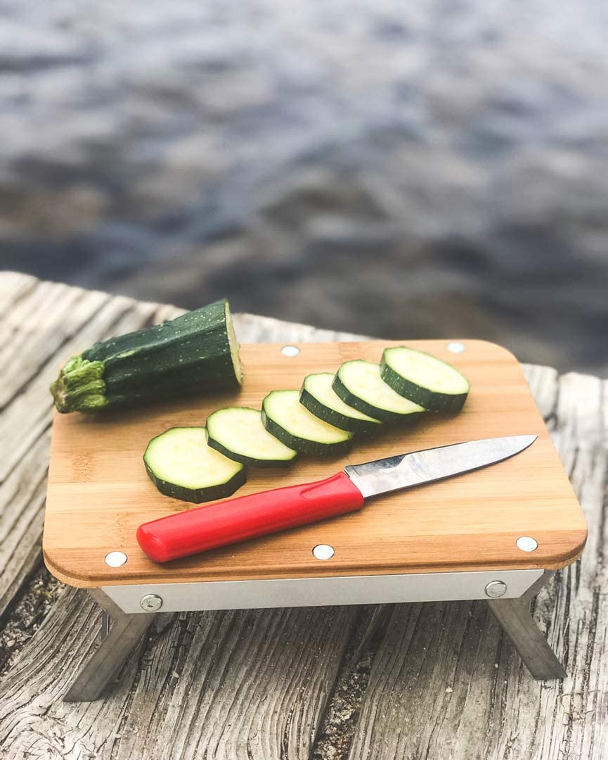 nCamp Universal Portable Outdoor Camping Elevated Prep Cutting Board