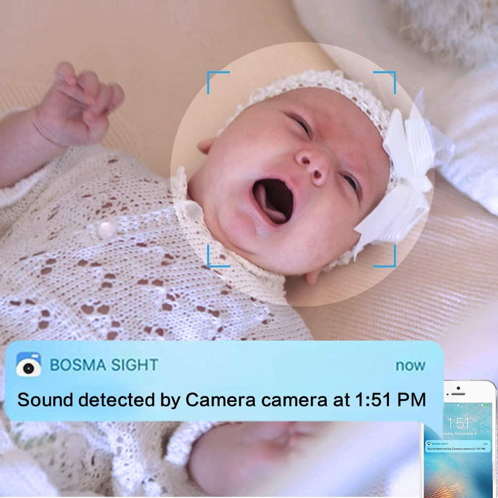 Bosma Video Baby Monitor with Phone app