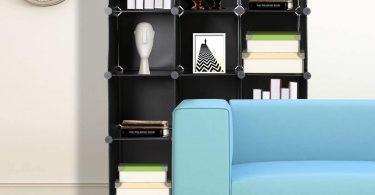 TomCare Cube Storage 12-Cube Bookshelf Closet Organizer Storage Shelves