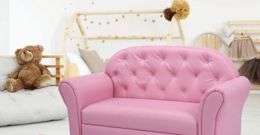Costzon Kids, PU Leather Upholstered
