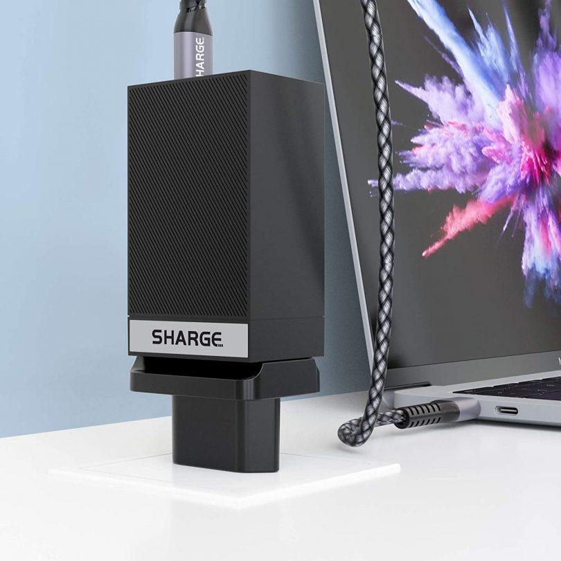 SHARGE | Interchangeable Wall Plug | EU Type-C