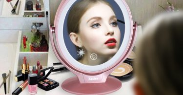 Aesfee LED Lighted Makeup Vanity Mirror