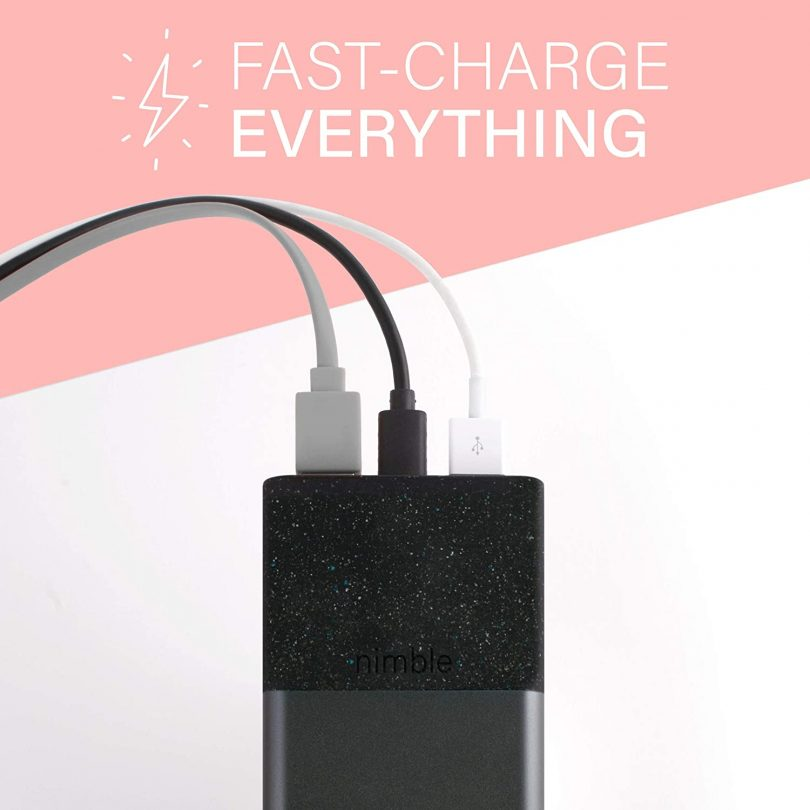 Nimble Eco-Friendly 8-Day Fast Portable Charger