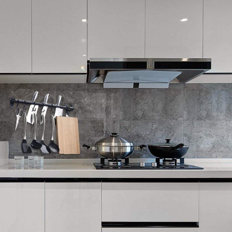 Kitchen Hook Pot Rack Wall Mounted