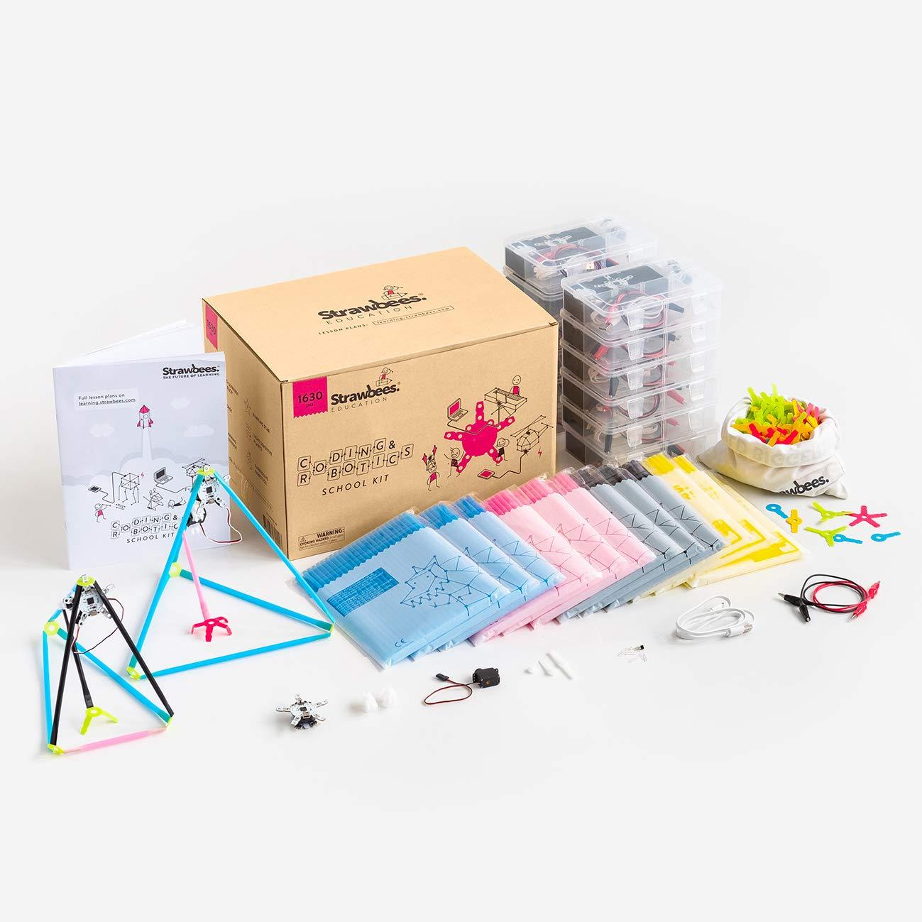 Strawbees Coding & Robotics Kit STEM Building and Programming School Kit