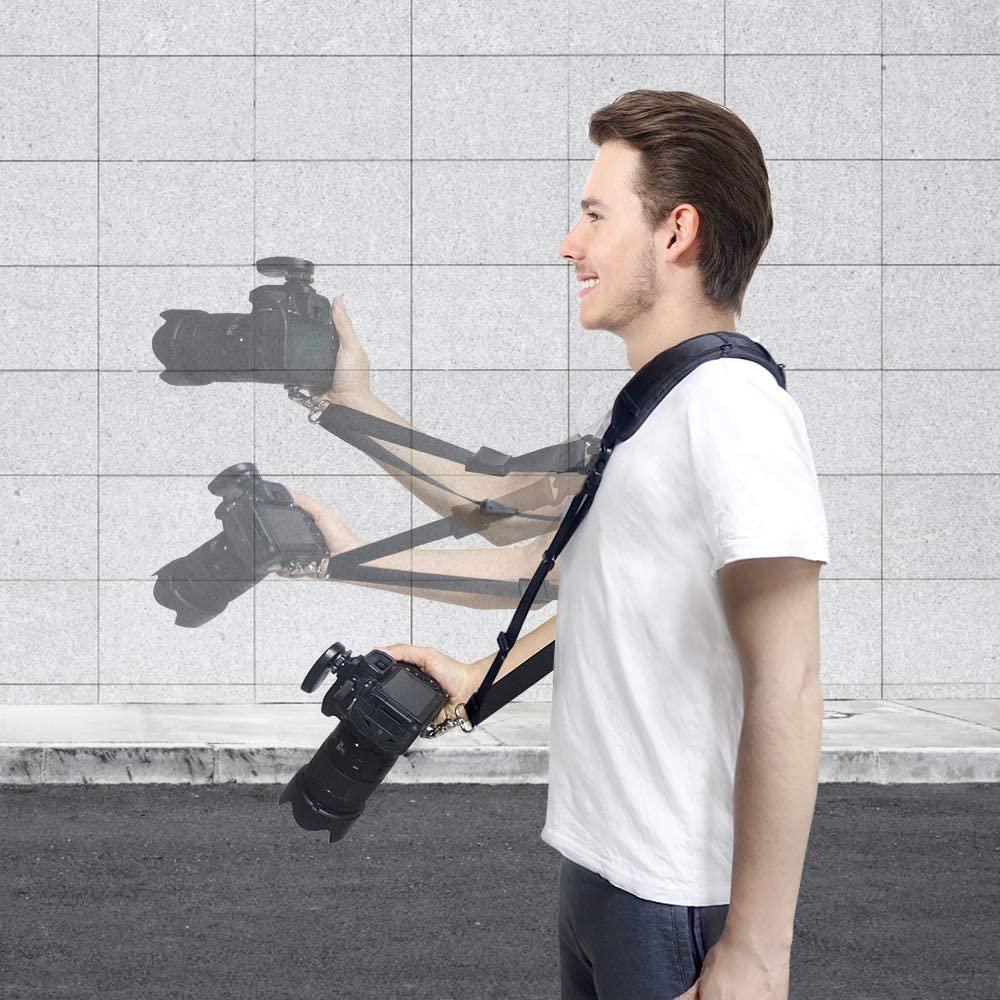 UBeesize Camera Neck Shoulder Sling Strap