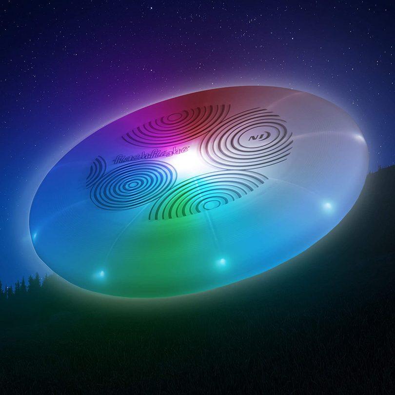 Nite Ize Flashflight LED Light Up Flying Disc