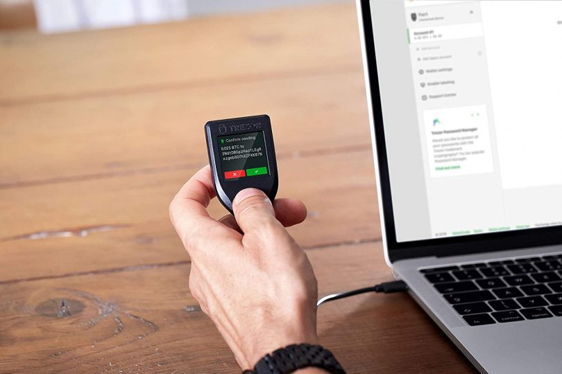 Trezor Model T – Next Generation Cryptocurrency Hardware Wallet