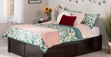 Atlantic Furniture Concord Platform 2 Urban Bed Drawers,
