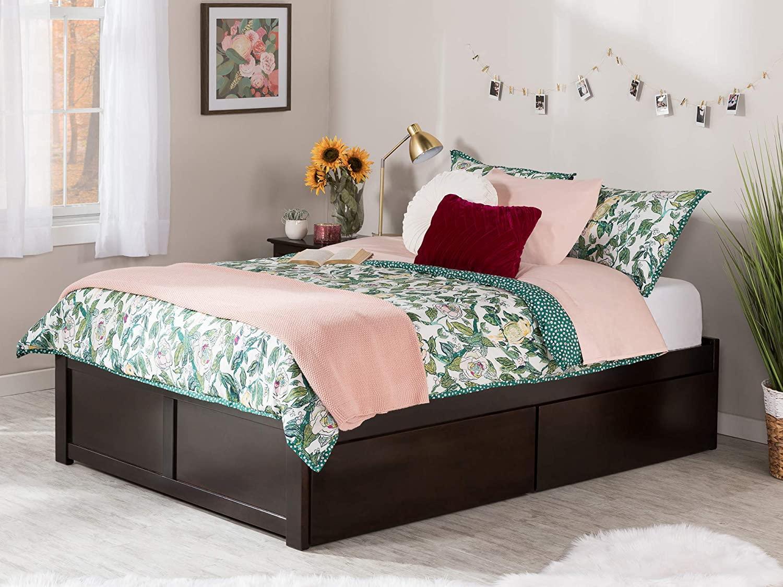 Atlantic Furniture Concord Platform 2 Urban Bed Drawers,