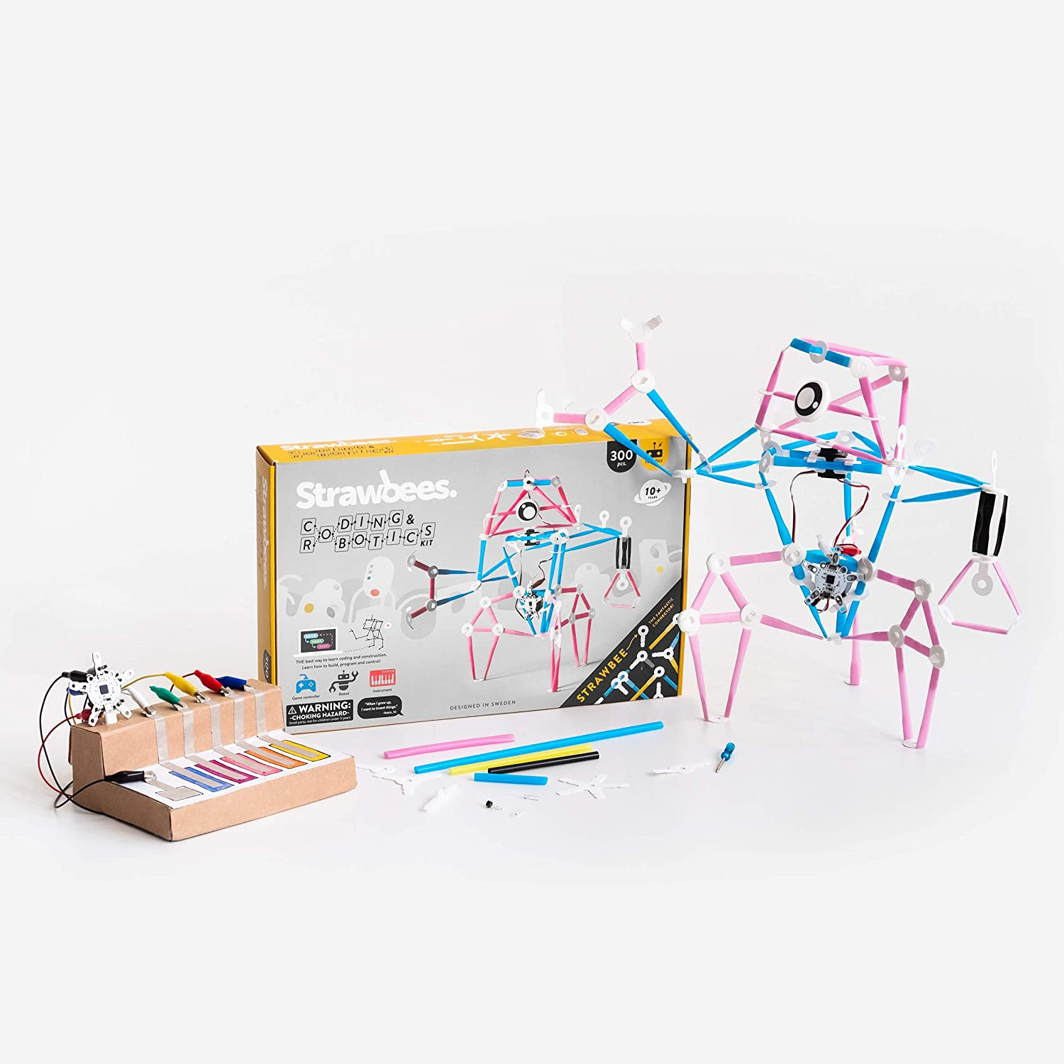 Strawbees Coding & Robotics Kit STEM Building and Programming Set