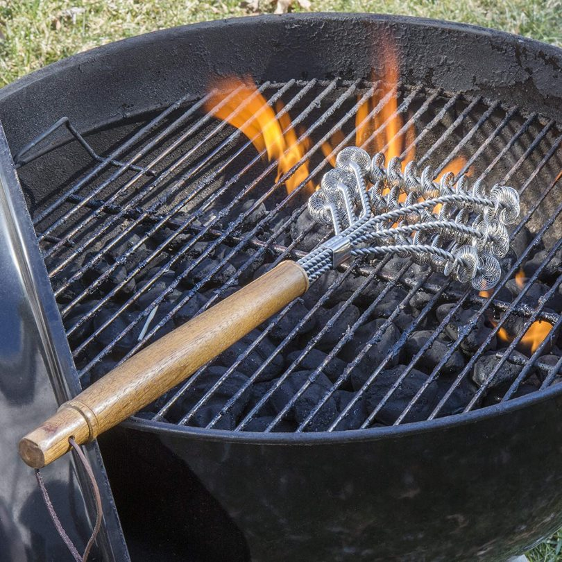 Grill Brush – 3 Sided Grill Cleaner BBQ Brush