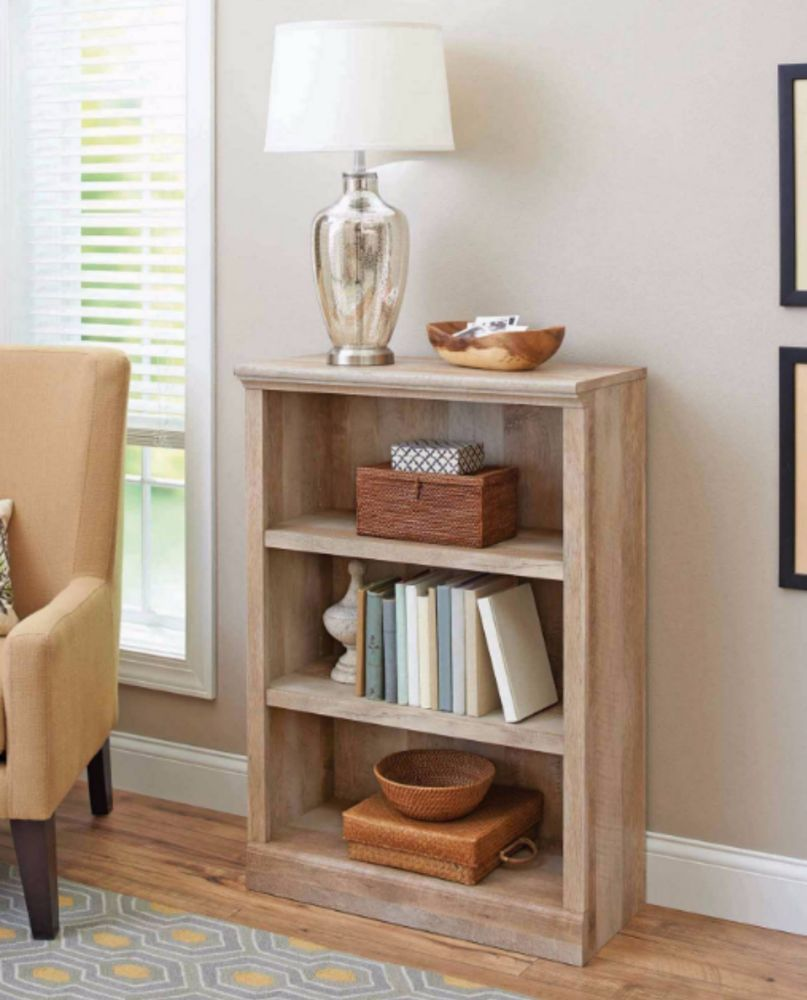 Better Homes and Gardens Crossmill Collection 3-Shelf Bookcase