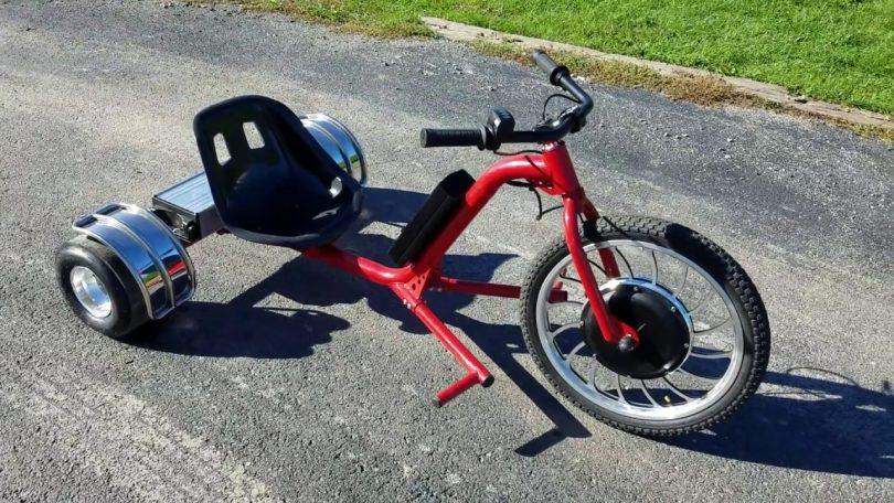 SUPERRIDE 1000Watts Electric Drift Trike